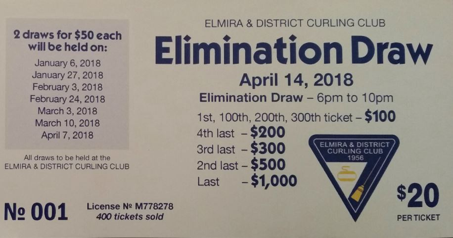 2017 18 Elimination Draw Ticket