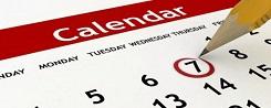 calendar 250x100
